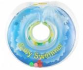 Круг для купания Baby Swimmer погремушка 0-36 мес.