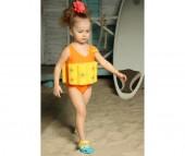 Baby Swimmer Детский купальный костюм Цветочек