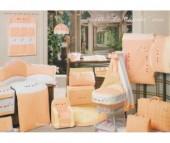 Постельное белье BabyPiu Le Chicche (4 предмета) в чемодане
