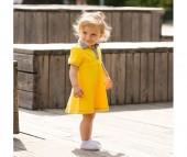 Bambinizon Платье с воротником
