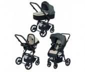 Коляска Foppapedretti 3Chic Travel System Black Frame 3 в 1