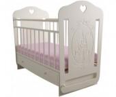 Детская кроватка Forest Принцесса маятник поперечный