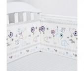 Бампер для кроватки Baby Nice (ОТК) Споки ноки Ежик