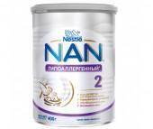 NAN Заменитель Гипоаллергенный 2 с 6 мес. 400 г