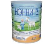 Бибиколь Нэнни 3 Молочная смесь на основе козьего молока от 1 года 800 г