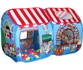 BabyOne Игровая палатка Детский магазин СВН-15 + 100 шаров