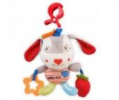 Подвесная игрушка Baby Mix Собачка с клубникой