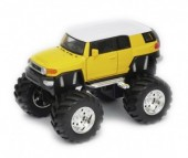 Welly Модель машины 1:34-39 Toyota FJ Cruiser Big Wheel