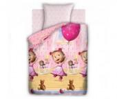 Постельное белье Непоседа Маша и Медведь День рождения 1.5-спальное (3 предмета)