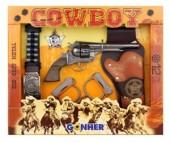 Gonher Игрушечное оружие Ковбойский набор на 12 пистонов