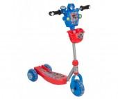 Трехколесный самокат Leader Kids трехколесный с роботом XG5307B1