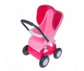 Коляска для куклы Полесье 4-х колёсная