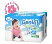 Genki Подгузники-трусики Nepia Premium Soft M (7-10 кг) 32 шт.