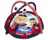Развивающий коврик Baby Mix Sailor Bear
