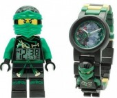 Конструктор Lego Наручные часы Ninjago Sky Pirates Ллойд с минифигуркой