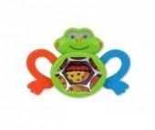 Развивающая игрушка Baby Mix с прорезывателем Лягушонок