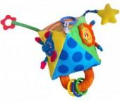 Подвесная игрушка Baby Mix Пирамидка с прорезывателем