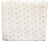Постельное белье Папитто Пододеяльник 120х125 кружевное полотно