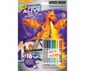 Раскраска Crayola Colour Alive Драконы