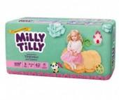 Milly Tilly Подгузники-трусики для девочек 9-14 кг 42 шт.