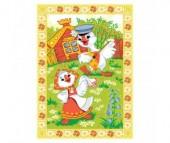 Одеяло Baby Nice (ОТК) байковое Веселые гуси 100х140 см