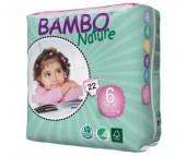 Bambo Nature Подгузники XL (16-30 кг) 22 шт.