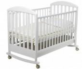 Детская кроватка Papaloni Джованни качалка 120х60