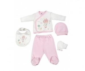Купить Bebitof Baby Подарочный набор для новорожденного (5 предметов) BBTF-790