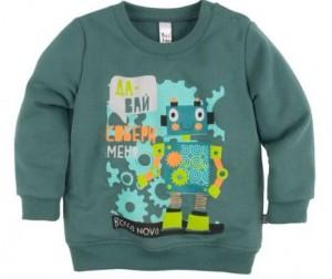 Купить Bossa Nova Джемпер с принтом для мальчика Роботы 554Б-464