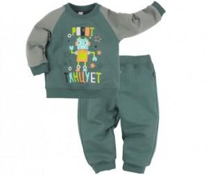Купить Bossa Nova Пижама (джемпер и брюки) с принтом для мальчика Роботы