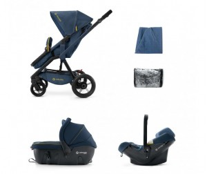 Коляска Concord Wanderer Travel Set (Sleeper+Air) 3 в 1