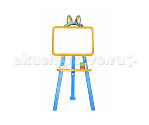 Купить Doloni Игрушка Доска 2-х сторонняя для рисования мелки маркер