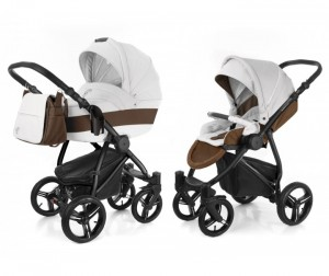 Коляска Esspero Grand Newborn Lux 2 в 1 шасси Black