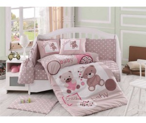 Постельное белье Hobby Home Collection Ponpon 100х150 см