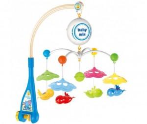 Купить Мобиль Baby Mix Птички с зонтиками