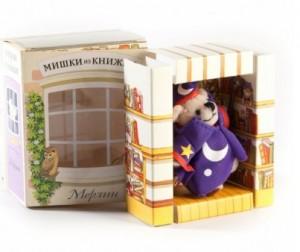 Купить Мишки из книжки Мерлин Книга+игрушечный медведь