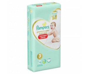 Pampers ������� Premium Care Pants �.3 (6-11 ��) 56 ��.
