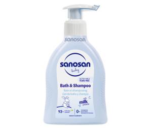 Купить Sanosan Средство для купания и шампунь 200 мл