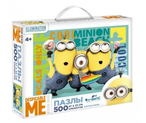 Origami Minions Пазл Крутые парни (500 элементов)