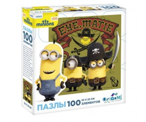 Origami Minions Пазл 01790 (100 элементов)