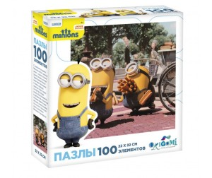 Origami Minions Пазл 01697 (100 элементов)