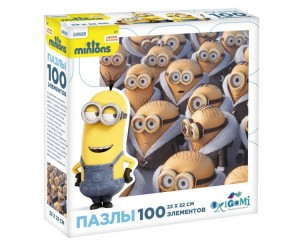 Origami Minions Пазл 01700 (100 элементов)