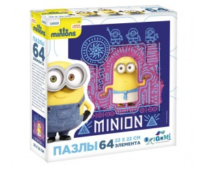 Origami Minions Пазл 01793 (64 элемента)