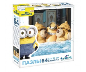 Origami Minions Пазл 01701 (64 элемента)