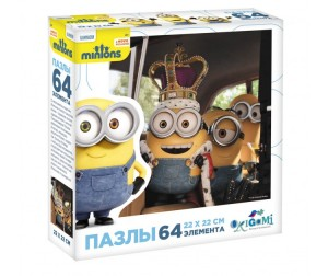 Origami Minions Пазл 01704 (64 элемента)