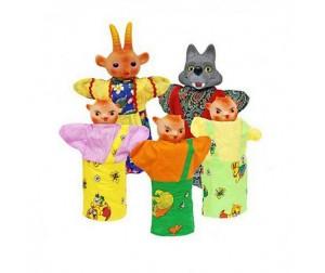 Купить Русский стиль Кукольный Театр Козлята и волк