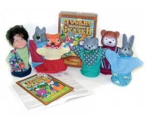 Купить Русский стиль Кукольный Театр Кот и лиса