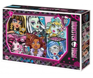 Origami Monster High Пазл 05909 (60 элементов)