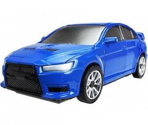 Happy Well Трансформер-машина 3 в 1 Mitsubishi Lancer evo 1:32