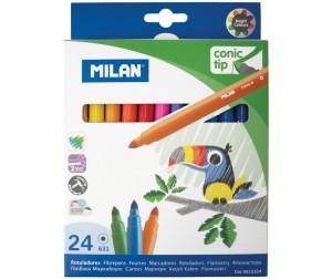 Купить Фломастеры Milan 631 24 цвета